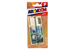 Освіжувач повітря Aromcom Персик для авто арт.001946