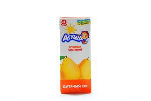 Сок грушовый осветленный Агуша 200мл