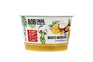 Десерт на кокосовом креме Манго-маракуйя Bob Snail ст 180г