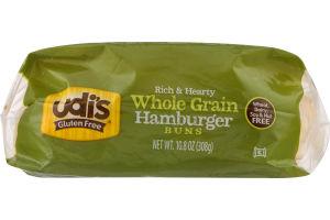 Udi's Whole Grain Hamburger Buns Gluten Free - 4 CT