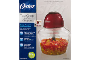 Oster Top Chop 4-Cup Chopper