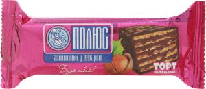 Торт вафельный глазированный Фундук Полюс м/у 60г