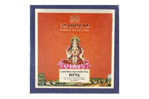 Чай черный индийский гранулированный Питта Teahouse к/у 20х2.5г