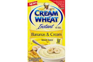 Cream of Wheat Instant Hot Cereal Bananas & Cream - 10 CT