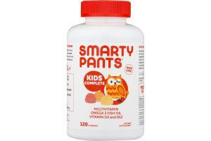 SmartyPants Kids Complete Multivitamin Gummies - 120 CT