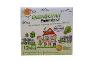 Порошок для стирки детских вещей Green&Clean Professional 1,2кг