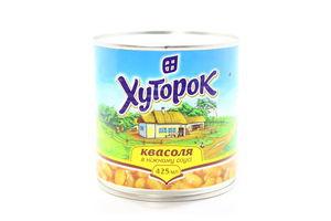 Квасоля Хуторок в ніжному соусі 425мл х10