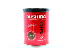 Кава Bushido Arabica Premium Specialty мелена 250г