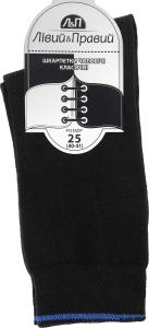 Носки мужские Лівий&Правий Премиум темно-серый р25