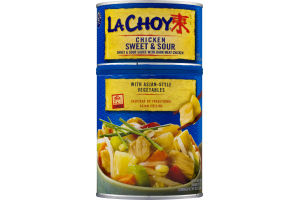 La Choy Chicken Sweet & Sour with Asian-Style Vegetables