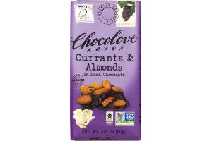 Chocolove Currants & Almonds In Dark Chocolate