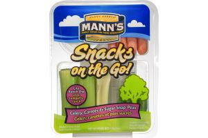 Mann's Snacks on the Go! Celery, Carrots & Sugar Snap Peas