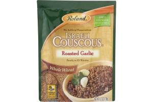 Roland Israeli Couscous Roasted Garlic Whole Wheat