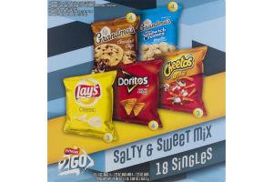 Frito-Lay 2 Go Variety Salty & Sweet Mix - 18 CT