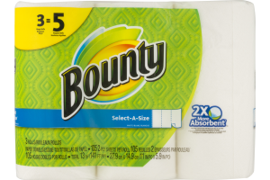 Bounty Paper Towels Select-A-Size - 3 CT