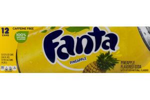Fanta Pineapple Soda - 12 PK