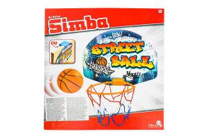 Набор игровой для детей от 3лет №7406024 Street Ball Simba 1шт