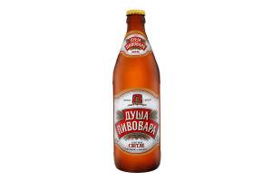 Пиво 0.5л 4.2% світле пастеризоване Душа пивовара пл
