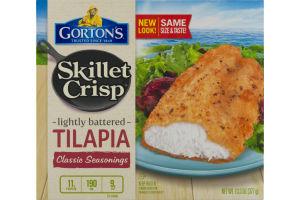 Gorton's Skillet Crisp Lightly Battered Tilapia Classic Seasonings