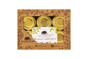 Набор подарочный 6 вкусов Медовые десерты Правильный мед к/у 6х50г