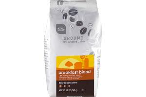 Smart Sense Ground 100% Arabica Coffee Breakfast Blend Light