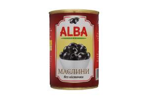 Маслины без косточки Alba Food ж/б 300мл