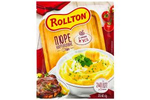 Пюре картофельное со вкусом мяса Роллтон м/у 40г