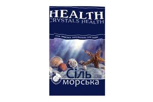 Сіль мор.д/ванн Сrystals Health нат.1кг