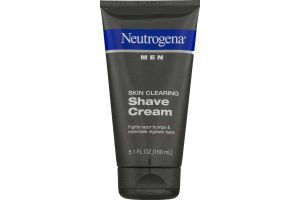 Neutrogena Men Shave Cream Skin Clearing