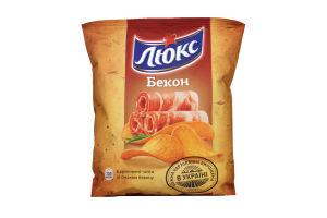 Чіпси зі смаком Бекона Люкс 71г