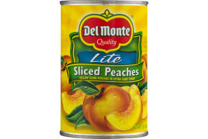 Del Monte Lite Sliced Peaches