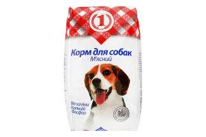 Корм д/собак мясний сухий 3кг ТМ 1