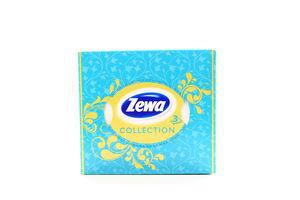 Платочки бумажные 20.8х21см 3-х слойные Collection Zewa 60шт