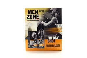 Набір Men Zone Energy Shot піна д/г 200мл лосьйон п/г 90мл