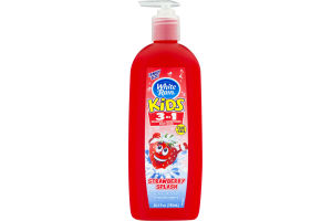 White Rain Kids 3 In 1 Shampoo + Conditioner Strawberry Splash