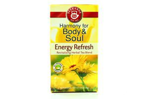 Чай травяной Energy refresh Harmony for body&soul Teekanne к/у 20х2г