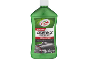 Turtle Wax Renew Rx Color Back Finish Restorer
