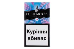 Сигарети з фільтром Philip Morris Indigo Novel Mix 20шт