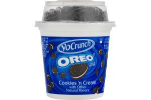 YoCrunch Lowfat Cookies 'N Cream Yogurt Oreo
