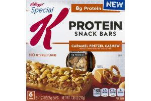 Kellogg's Special K Protein Snack Bars Caramel Pretzel Cashew - 6 CT