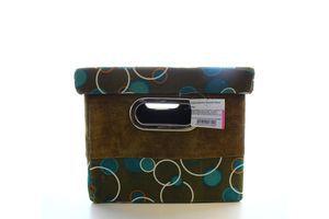 Короб Handy Home з кришкою Шоколад і бірюза FBB01-L