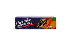 Начинка макова з цедрою апельсина SantaVita Bakers к/у 500г
