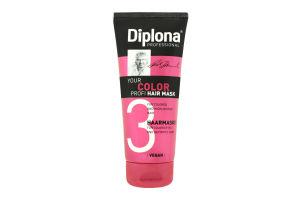 Маска для фарбованого та освітленого волосся Diplona 200мл