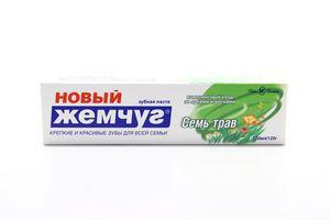 Зубная паста Семь трав Новый жемчуг Невская косметика 100мл
