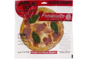 Table 87 Coal Oven Pizza Prosciutto Di Parma