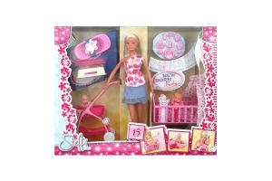 Лялька Штеффі з немовлям набір Simba 5730860