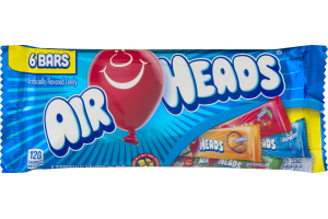 Air Heads Bars Variety Pack - 6 CT