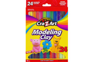 Cra-Z-Art Modeling Clay Rainbow Colors - 24 CT