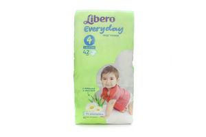 Подгузники детские 7-18кг Everyday Libero 42шт