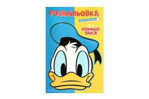 Раскраска Donald Ducк Disney Egmont 1шт